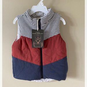 NWT Rorie Whelan Reversible Vest / Size 3T